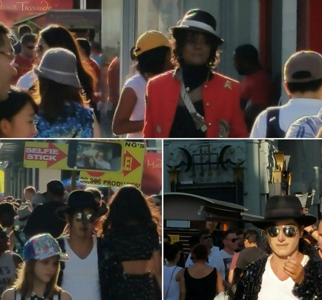 マイケルのそっくりさん(ハリウッド)
