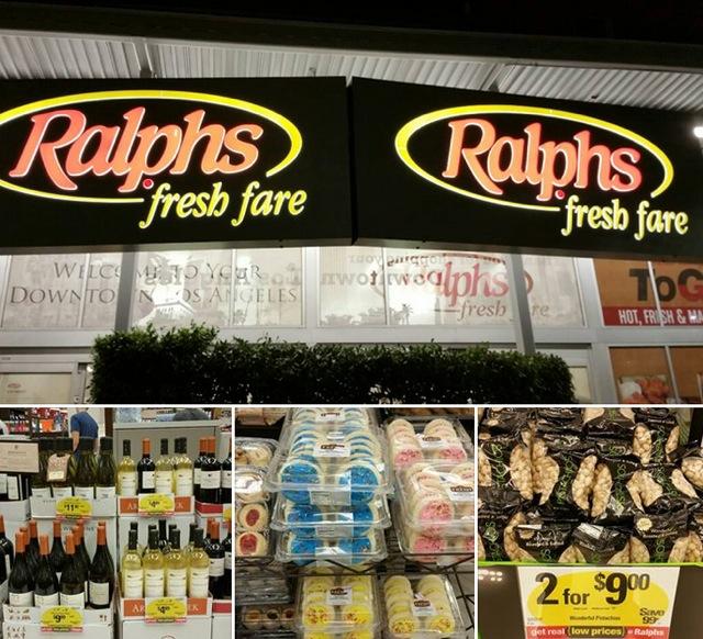 """Ralphs""でお買い物"