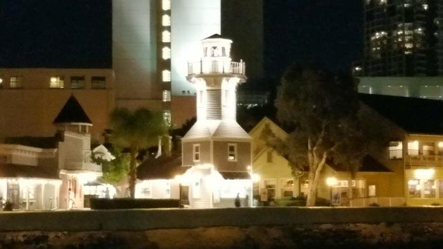 シーポットビレッジの灯台の形をした 可愛い ギフトショップ